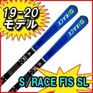 19-20モデル 2019/2020 SALOMON サロモン S/RACE FIS SL + X16LAB SL用レーシングスキー 金具付き|spshop-zero