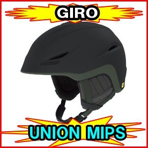 ★SALE!!★ 2019-2020モデル GIRO ジロ UNION MIPS ユニオン ミップス スキー スノーボードヘルメット フリーライド用ヘルメット|spshop-zero
