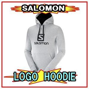 18-19モデル【SALOMON】サロモン LOGO HOODIE ロゴフーディ パーカー|spshop-zero
