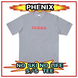 19-20モデル【PHENIX】フェニックス PL912TS04 NO SKI NO LIFE SS TEE Tシャツ 半袖|spshop-zero