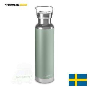[在庫アリ]DOMETIC ステンレス携帯用魔法瓶・まほうびん サーモボトル 水筒 660ml カラー:モス:ドメティック|sptanigawaya