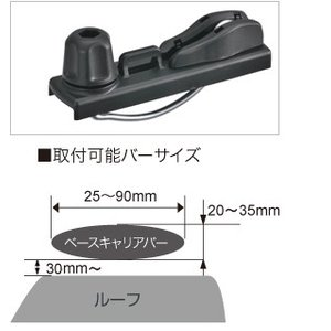 [在庫有即納] inno クイッククランプセット BRP10 ルーフボックスオプションパーツ   カーメイトCARMATE sptanigawaya