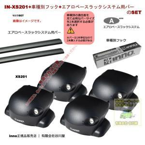 Carmate innoベースキャリアset 三菱:デリカD:5:取付ポイント付:CV5W系:(XS201 |XB115が2本| K346 )エアロベース|sptanigawaya