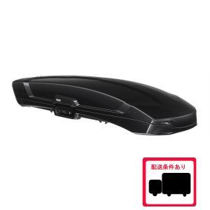 [在庫あり]THULE Vector M th6132-1 スーリー ベクターM ブラックメタリック  スーリールーフボックス[個人宅配送不可]|sptanigawaya