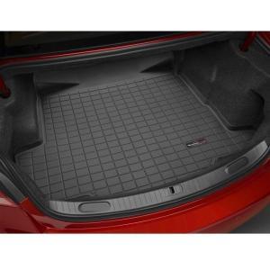 WeatherTech BMW 3シリーズ(E46 4ドア セダン/E46 2ドア クーペ) カーゴライナー/ラゲッジマット(ブラック)正規品|sptanigawaya