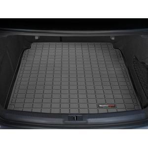 WeatherTech AudiアウディRS5 クーペ(2009年発売開始モデル)カーゴライナー/ラゲッジマット(ブラック)|sptanigawaya