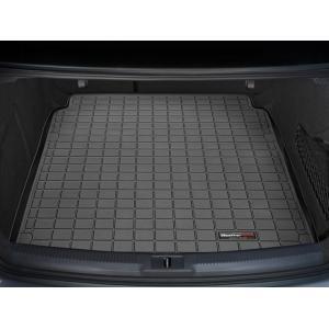 WeatherTech Audi S4(B8)  (2009〜2015年)カーゴライナー/ラゲッジマット(ブラック)|sptanigawaya