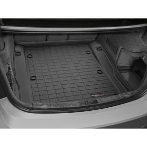WeatherTech BMW 3シリーズ F30(セダン)カーゴライナー/ラゲッジマット(ブラック)正規品|sptanigawaya