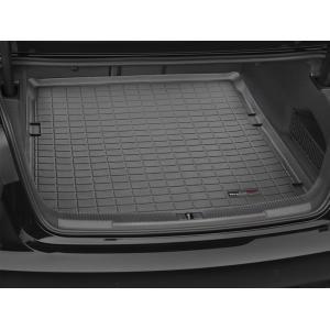 WeatherTech AudiアウディA6セダン(saloon)(2012-2017モデル)カーゴライナー/ラゲッジマット(ブラック)|sptanigawaya