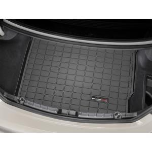 WeatherTech BMW 6シリーズ F06(グランクーペ)カーゴライナー/ラゲッジマット(ブラック)正規品|sptanigawaya
