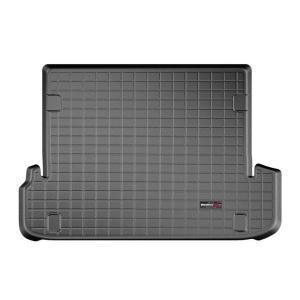 WeatherTech TOYOTAトヨタ ランドクルーザープラド150(2010発売開始モデル)右ハンドル カーゴライナー/ラゲッジマット(ブラック)|sptanigawaya