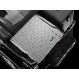 WeatherTech JEEPジープ ラングラーアンリミテッド(2007年開始モデル)カーゴライナー/ラゲッジマット(グレー)wt42324|sptanigawaya