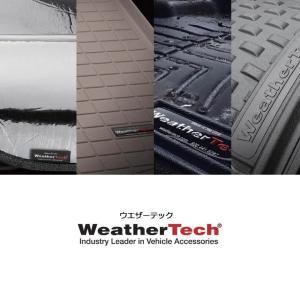 WeatherTech VWフォルクスワーゲン トゥアレグ(7P)右ハンドル 2013〜2015年(フロント&リア)ブラック フロアマット sptanigawaya 03