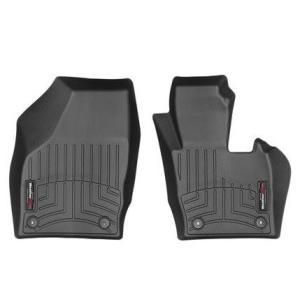 WeatherTech Audiアウディ Q3(8U) 右ハンドル2011年発売開始モデル(フロントのみ)(ブラック)フロアマット/フロアライナー|sptanigawaya
