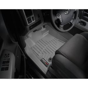 WeatherTech USトヨタ タンドラ クルーマックス(2012〜2013)左ハンドル(フロント&リア)(グレー)フロアマット sptanigawaya