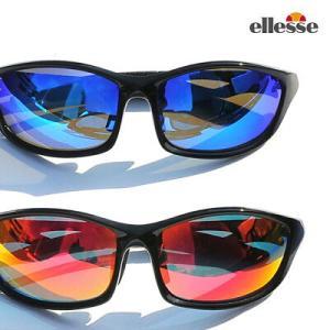 エレッセスポーツサングラス メンズ 偏光サングラス ミラーレンズ ES-S203-R