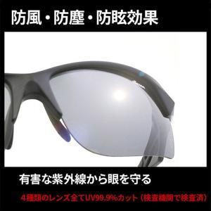 スポーツサングラス 偏光サングラスメンズ エレ...の詳細画像2