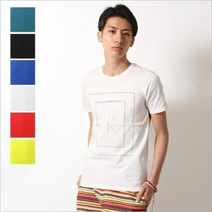 【1,000円均一】【特別価格】 Tシャツ VIBGYOR ビブジョー メンズ[asterisk]|spu