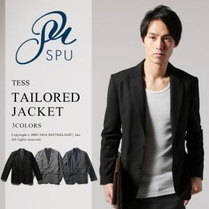 テーラードジャケット メンズ 2つボタン TR素材(スーツ生地)TESS(テス) |spu