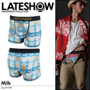 メンズ インナー 下着 LATESHOW Milk|spu