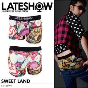 【セール対象】メンズ インナー 下着 LATESHOW SWEET LAND|spu