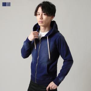パーカー メンズ カット デニムZIP パーカー メンズファッション Buyer's Select バイヤーズセレクト|spu