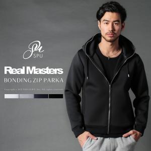 パーカー メンズ ボンディング ZIPパーカー パーカー スウェット セットアップ Real Masters リアルマスターズ 44324|spu