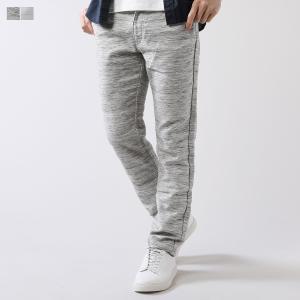 スウェット パンツ メンズ 日本製 杢 TOP 2重織 ニットライク スリム テーパードパンツ|spu