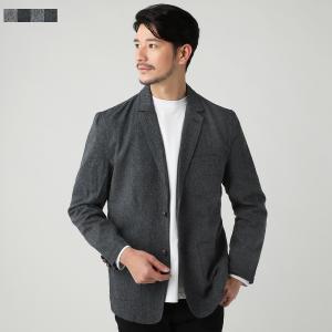 ジャケット メンズ 秋 冬 春 ツイード テーラード ジャケット ヘリンボーン 杢調 JKT SPU スプ|spu