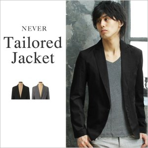 【セール対象】スーツ地 ピークドラペル 1ボタン テーラードジャケット 男性 メンズ|spu
