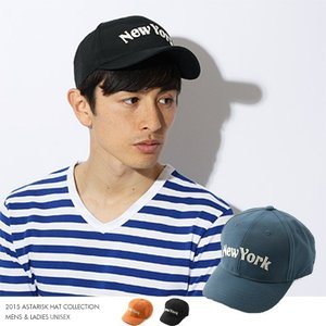 ニューヨークロゴ キャップ ベースボールキャップ メンズ 帽子|spu