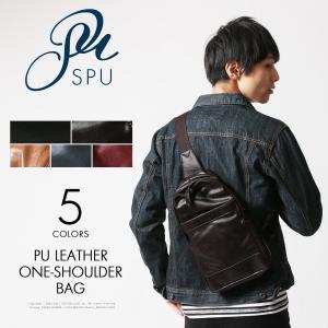 ボディバッグ バッグ 鞄 本革風 PUレザー ワンショルダー ボディバッグ Buyer's Select バイヤーズセレクト|spu