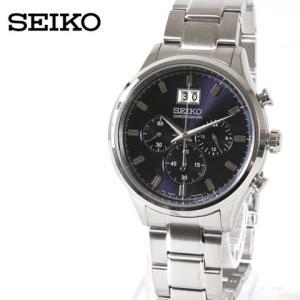【腕時計 メンズ】SEIKO 海外モデル クロノグラフ クオーツ 時計 カレンダー 男性 メンズ  ≪送料無料・代引き手数料無料≫|spu