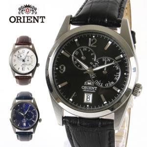 ORIENT オリエント 逆輸入 海外モデル 本革 レザーベルト AUTOMATIC オートマチック 自動巻き 腕時計 男性 メンズ spu
