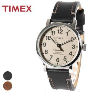 時計 メンズ タイメックス TIMEX The Waterbury レザー 本革|spu