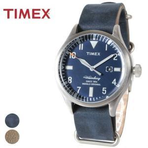 腕時計 メンズ タイメックス TIMEX The Waterbury レザー 本革|spu