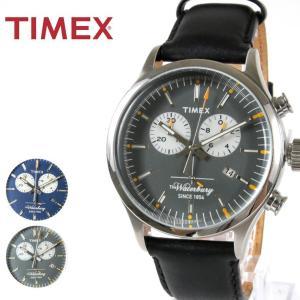 TIMEX The Waterbury Collection ウォーターベリー クロノグラフ 腕時計 カレンダー TIMEX タイメックス|spu