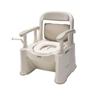ポータブルトイレ背もたれ型SPソフト便座・便ふたタイプ|spuler