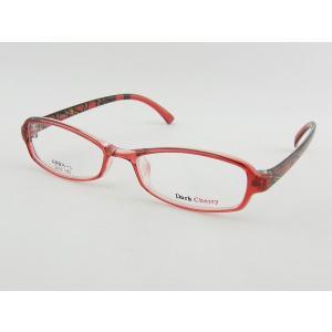 ダークチェリー 192-8 レンズセット 女子 レッド レンズ セット 伊達 超軽量 チェック 度付き 度付き 度無し ZIFL|squacy