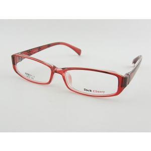 ダークチェリー 195-8 レンズセット 女性 レッド レンズセット 伊達 超軽量 ビジネス 度付き 度付き 度無し ガーリー ZIFL|squacy