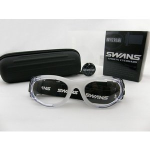 スワンズ SWANS スポーツゴーグル SVS-501-CLA アイガード サングラス 野球 部活 度付対応可 花粉症対策|squacy