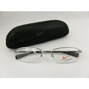 【本数限定】NIKE ナイキ 新作メガネ 4801-013 レンズセット  鼻パッド 形状記憶 めがね 度付可 柔軟 専用ケース付 形状記憶素材 スポーツ 滑り止め|squacy