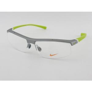 ナイキNIKE 度付メガネセット7071-3-048 薄型レンズ付 軽量 アスリート プロ使用  野球 スポーツ ゴルフ テニス マラソン 度付サングラスに|squacy