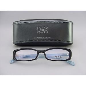 O&X new york めがねフレーム 78-03 ケース付 個性遊び セルフレーム 度付可 オシャレ デザイン系