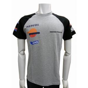 GAS HONDA-54-8328-18-1004-1902-Sサイズ 半袖Tシャツ ラグラン ラグラン モトクロス バイクMotoGP ウェア アパレル