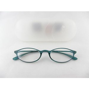 ベルエクレール92361老眼鏡+1.0アクア シンプル 可愛い ケース付 新聞 敬老 かわいい 男女兼用|squacy