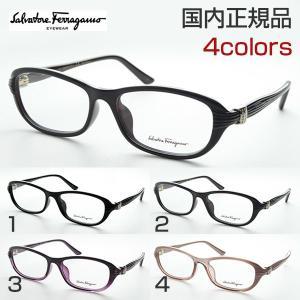 フェラガモ SF2702RA 度付き メガネ 上品 スクエア パール 高級感 めがね 伊達眼鏡 ファッション おしゃれ Salvatore Ferragamo パンプス ロゴ ファッショナブル|squacy
