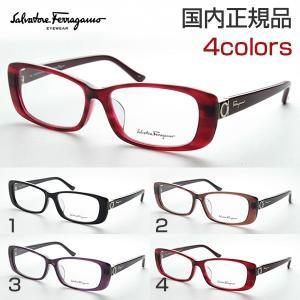 フェラガモ SF2708A 度付き メガネ スマート スクエア 高級 知的 めがね 伊達眼鏡 ファッション おしゃれ Salvatore Ferragamo パンプス ロゴ ファッショナブル|squacy