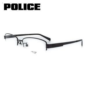 ポリス POLICE メガネフレーム VPL310J 0BK3 54サイズ  眼鏡 めがね 度付き可 メンズ|squacy