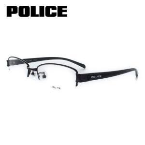 ポリス POLICE メガネフレーム ホ゜リスフレーム-VPL314J-0BK5-53  サイズ メタルダークパープル 眼鏡 めがね 度付き可 メンズ|squacy